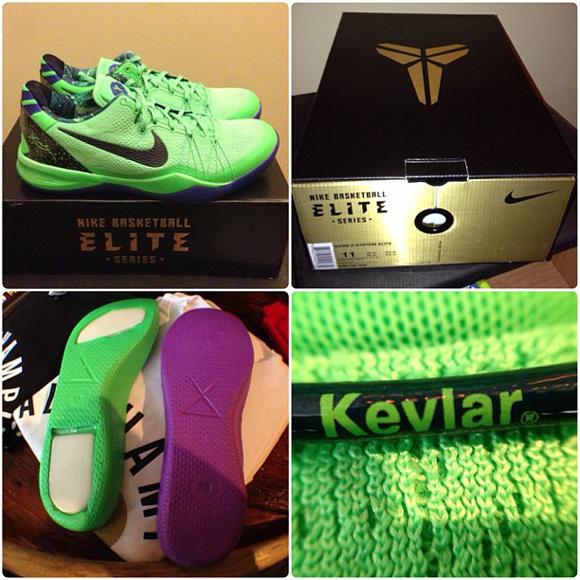 e06a6eaefadf Nike Kobe 8 Elite Features Zoom Air - WearTesters