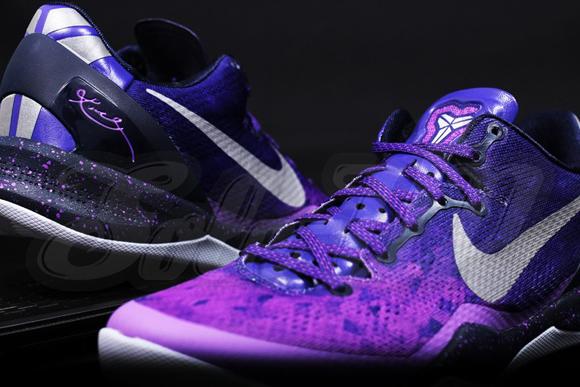 daad2796ddb5 Nike Kobe 8 SYSTEM Purple Gradient - Detailed Look   Release Date ...