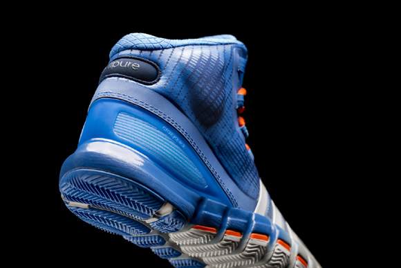 adidas Crazyquick Blue Silver - Orange 3 - WearTesters d841ef99a