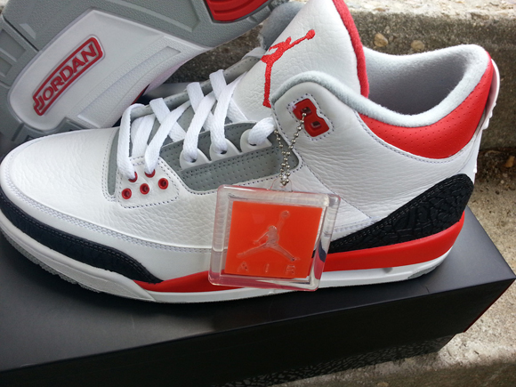f39f1348102a Air Jordan 3 Retro  Fire Red  - Detailed Look 7 - WearTesters