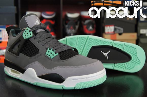 huge selection of 3a640 f6aec Air Jordan 4 Retro  Green Glow  – Detailed Look   Review 1