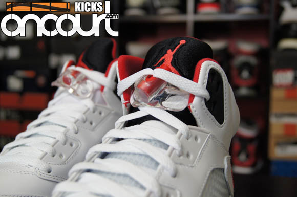 5c0a528322b3b3 Air Jordan 5 Retro  Fire Red  - Detailed Look   Review 5 - WearTesters