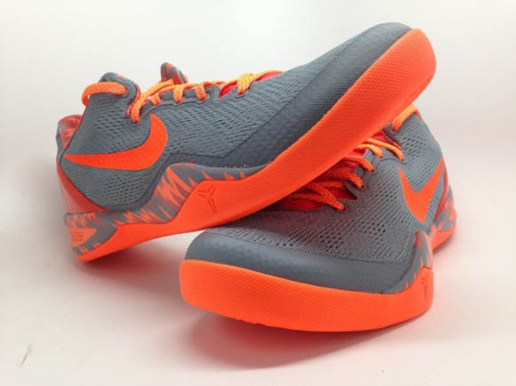 the latest 56a66 f6d44 Nike Kobe 8 SYSTEM PP Grey Orange 3