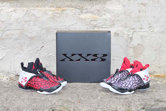 f0192c72088e0f Air Jordan XX8  Elephant Print Pack  - Detailed Look - WearTesters