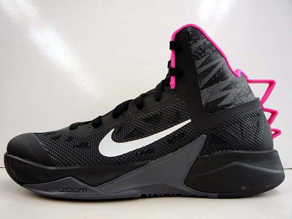 dce6bc27e203 Nike Hyperfuse 2013 Black  Pink - Another Look - WearTesters