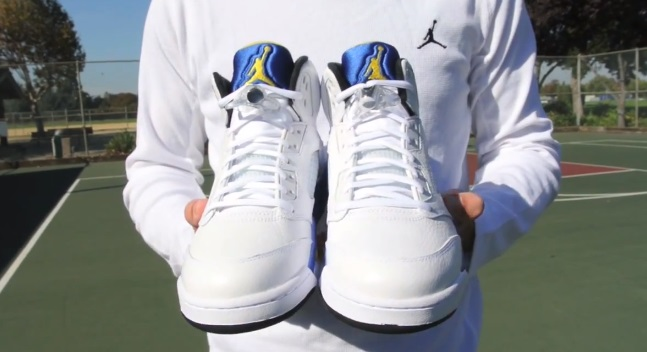 22d569d00cf20b ... promo code air jordan 5 retro laney detailed look review weartesters  bdd31 4f890