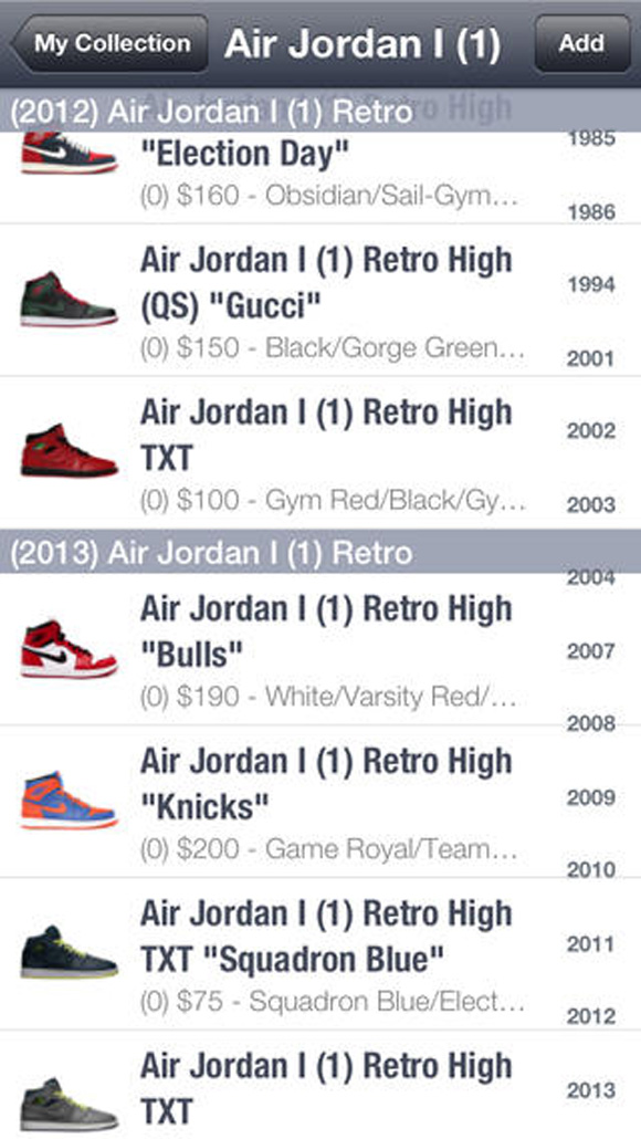 967c143d6ba8 Air Jordan Price Guide App - WearTesters