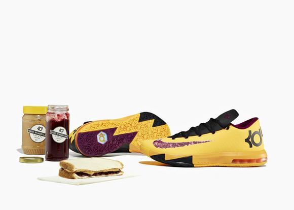 brand new 13140 b2f8e Nike KD VI Peanut Butter   Jelly - Detailed Look   Inspiration 1