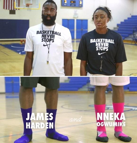 78639cd013b8 VIDEO  Nike Hyper Elite Sock Etiquette - Watch Your Weight - WearTesters
