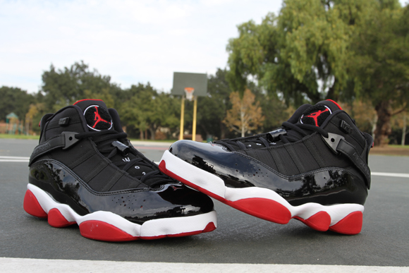 Air Jordan 6 Rings Black  Red - Detailed Look - WearTesters a9949104a