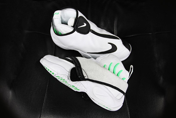82d05f515f62 Nike Air Zoom Flight The Glove White  Black – Poison Green ...