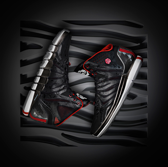 bd8424c30cb adidas D Rose 4.5 Black  Red - Detailed Look - WearTesters