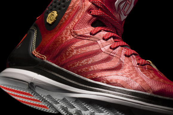 7bad29682ff adidas D Rose 4.5  Scarlet  - Detailed Look - WearTesters