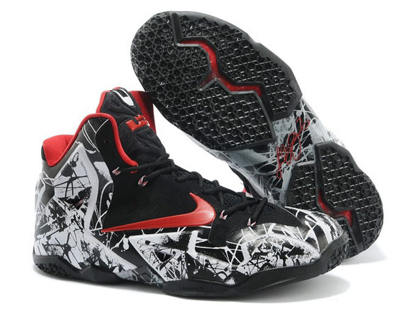 newest 3d806 34359 Nike LeBron 11  Graffiti  - Available Now
