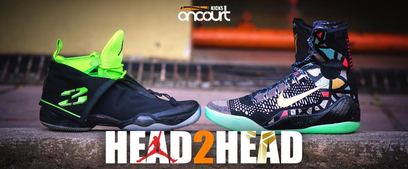75d859bd8b30 Head 2 Head  Air Jordan XX8 vs Nike Kobe IX Elite - WearTesters