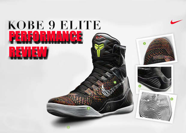 buy online 1680a 7e54b Nike Kobe 9 Elite Performance Review - WearTesters