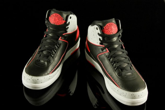 Air Jordan 2 (Infrared Cement)-New Images - WearTesters 7b7fbd23a5