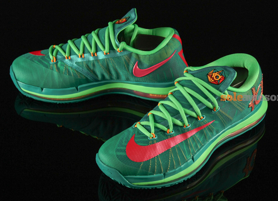 7f9ee99099bd Nike KD VI Elite  Turbo Green  - Detailed Look - WearTesters