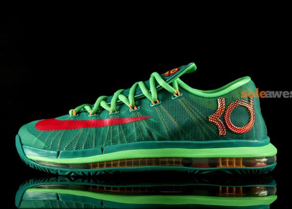 5a719d325e1d Nike KD VI Elite  Turbo Green  - Detailed Look 2 - WearTesters