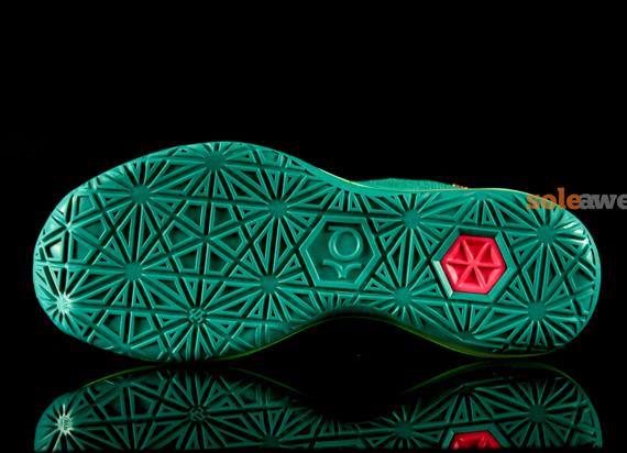 62e67ac7f81a Nike KD VI Elite  Turbo Green  - Detailed Look 4 - WearTesters