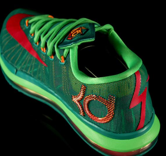2fe815298585 Nike KD VI Elite  Turbo Green  - Detailed Look - WearTesters