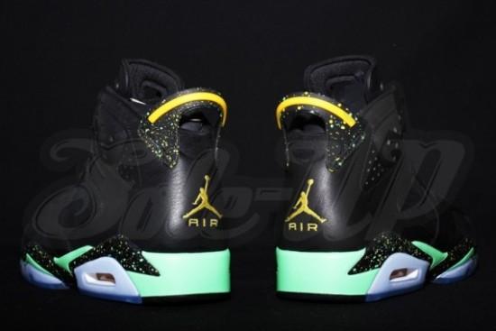 e6ce9274aeb4a3 Air Jordan 6 – Black – Green – Yellow 5 - WearTesters