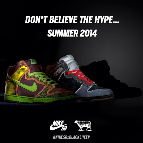 new york dea33 fe3fa Black Sheep Skate Shop Teases Nike Dunk SB Collab 1 ...