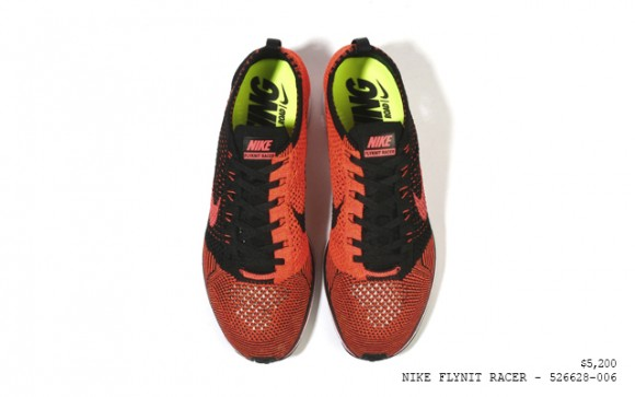 best service 351e9 d5706 Nike Flyknit Racer 2014 RedBlack - Detailed Look - WearTeste