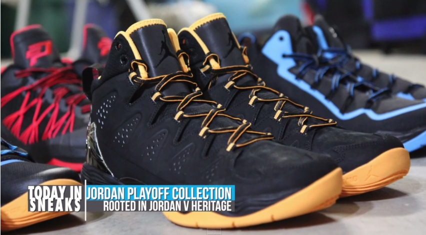 4c2e43c13649e5 Jordan Brand Playoff Pack 2014 on Today in Sneaks with Jacques Slade ...