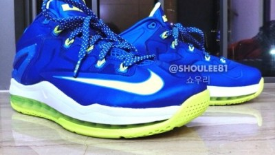 new product e23f5 6b91f Nike LeBron 11 Low  Sprite  – First Look