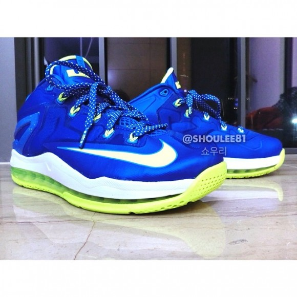 cb3220936bc60 Nike LeBron 11 Low  Sprite  - First Look - WearTesters