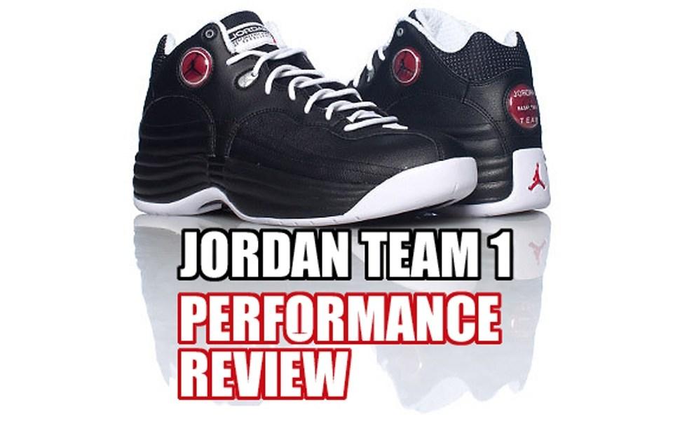 0711097c60c079 Jordan Team 1 Performance Review - WearTesters