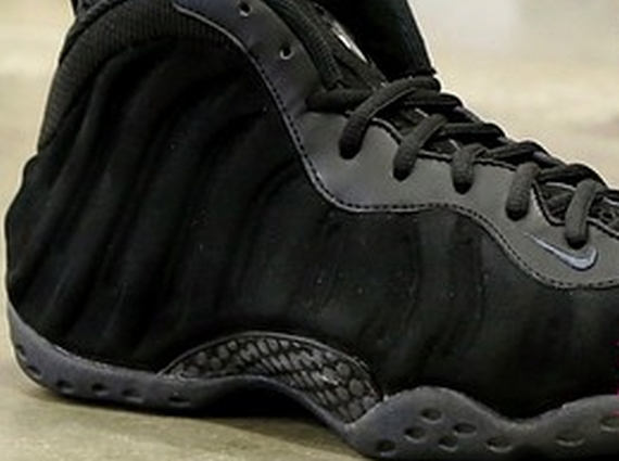 c028d7b7eb6 Nike Air Foamposite One  Black Suede  Sample - WearTesters