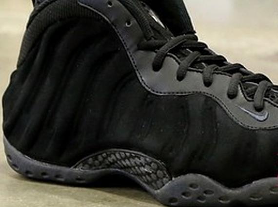 39e4fd30f07 Nike Air Foamposite One  Black Suede  Sample - WearTesters