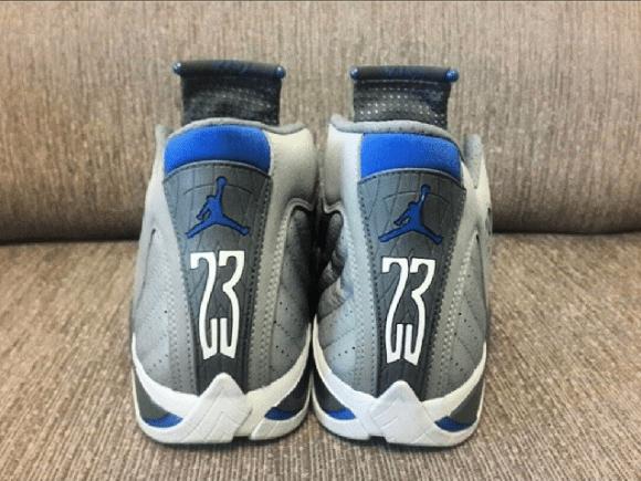 4ed0341ce4c4f8 Air Jordan 14 Retro  Sport Blue  - Another Look - WearTesters