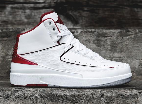 9a9dc7e1a4c285 Air Jordan 2 Retro - White Red - Release Info - WearTesters