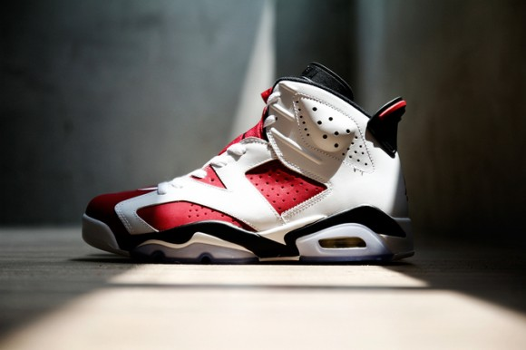 best website d3d27 f4f82 Air Jordan 6  Carmine  - Detailed ...