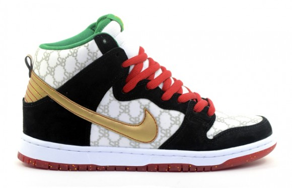 Black Sheep Skate Shop x Nike SB Dunk High 'Gucci' – Detailed Look 1