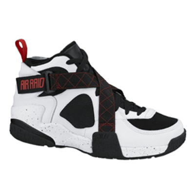 1d2010e28f35 Nike Air Raid White  Black - University Red - WearTesters