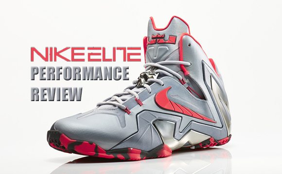 hot sale online 56092 e08c8 Nike LeBron 11 Elite Performance Review - WearTesters