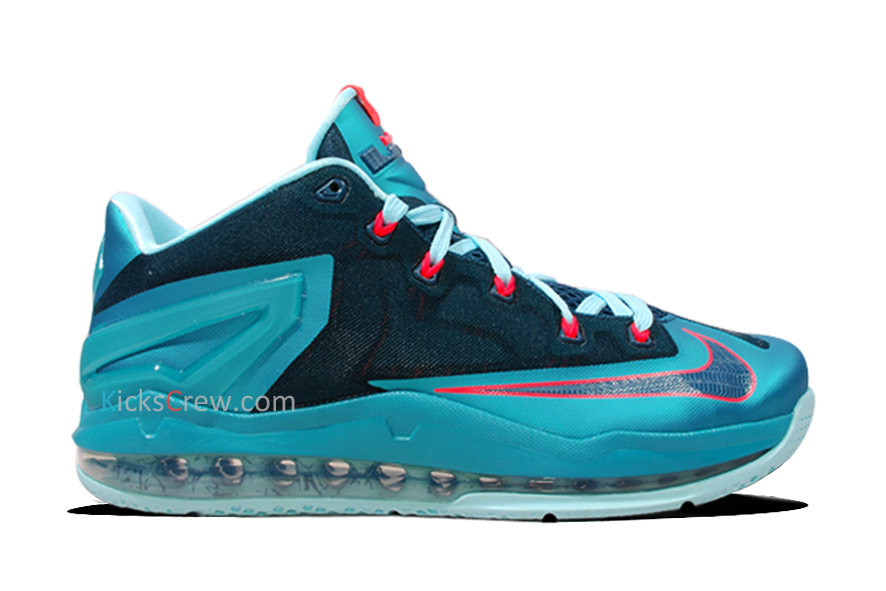 d8bd66d8253 Nike LeBron 11 Low  Turbo Green  - Detailed Look - WearTesters