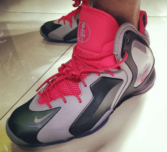 check out 0cfe3 8b380 ... First Look Nike Lil Penny Posite Hyper Jade  Hyper Pink ...