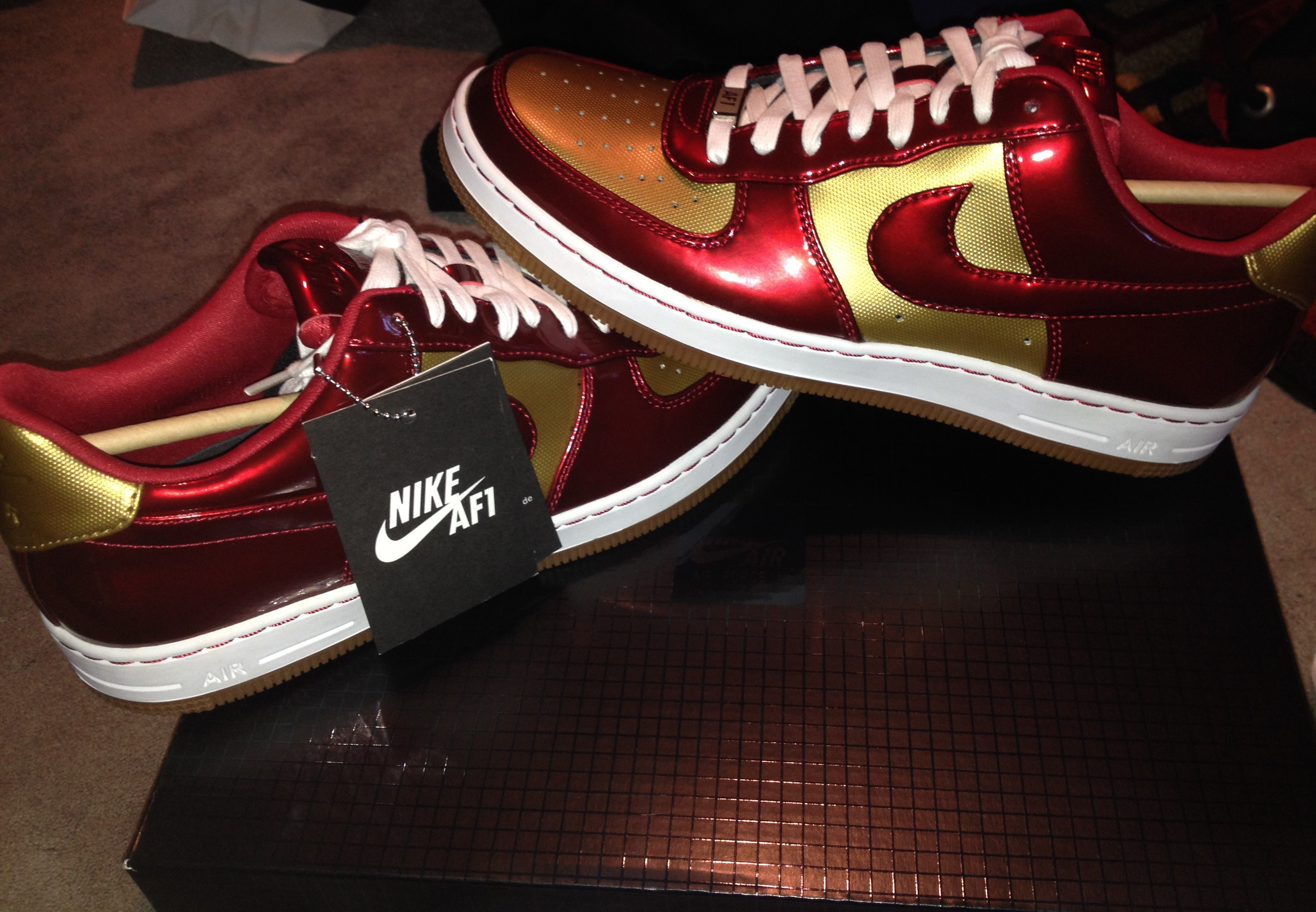 sale retailer f97e3 9c7ee air force 1 iron man air force 1 iron man ...