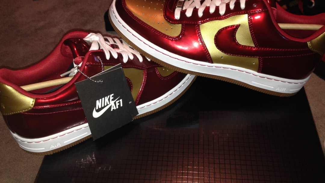 quality design 387d5 6ab5a Nike Air Force 1 Downtown LTH QS  Iron Man  - WearTesters