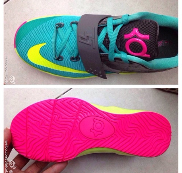 30a161f7a93 Nike KD VII (GS) - More Images - WearTesters