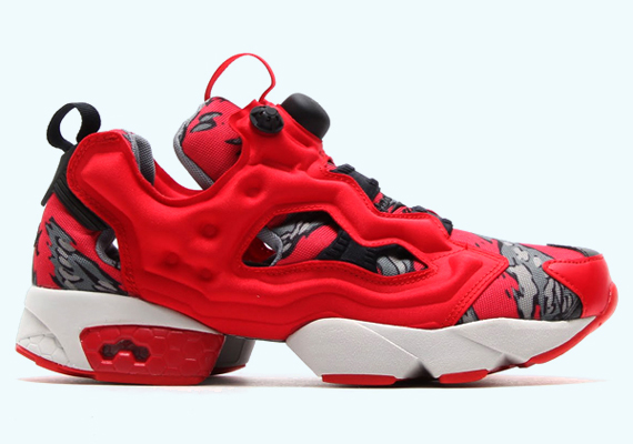 84a5f75602c8 Stash x Reebok Pump 25th Anniversary Red Collection - WearTesters