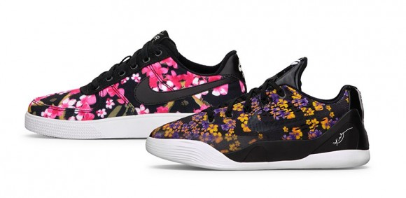 5d40b15c7216 Kobe 9 EM   Air Force 1 AC  Floral  - Official Look - WearTesters