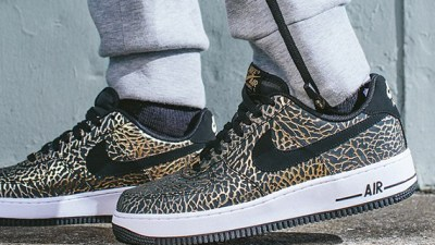 c30d548c37d Nike Air Force 1 Low  Gold Elephant  – Release Info