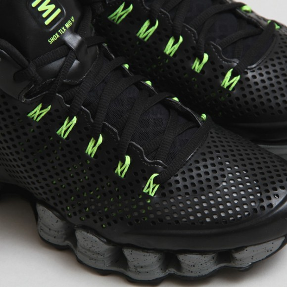 392d17bd234526 Nike Shox TLX Mid SP Black Volt  Release Reminder - WearTesters
