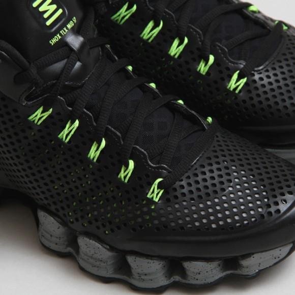 9de70dae257b Nike-Shox-TLX-Mid-SP-Black-Volt-4 - WearTesters